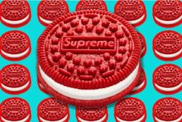 Supreme выпустил брендированное печенье Oreo