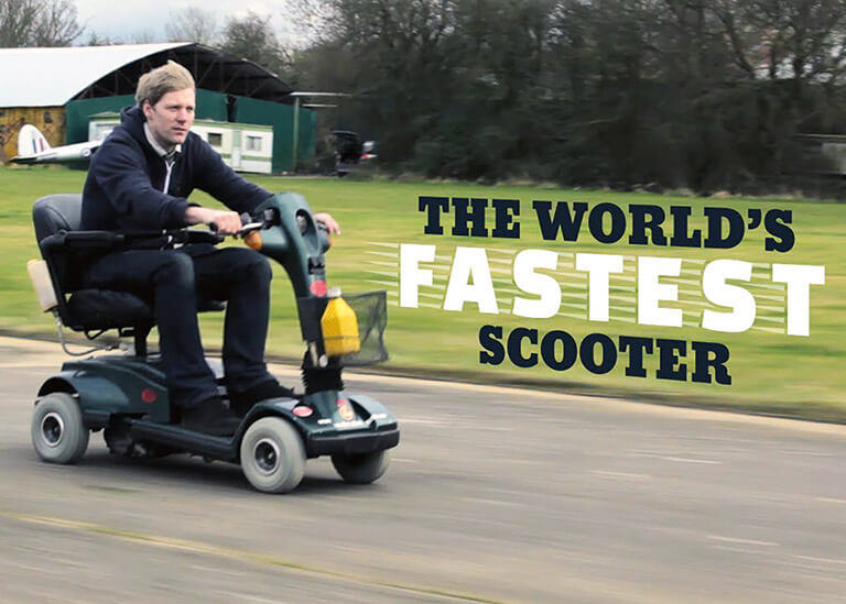 The World's Fastest Scooter