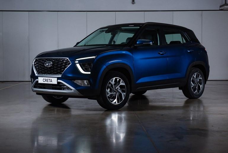 Картинка к Hyundai представляет новое поколение компактного кроссовера Creta
