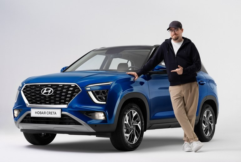 Картинка к Hyundai запускает акцию для знатоков кроссовера Creta нового поколения