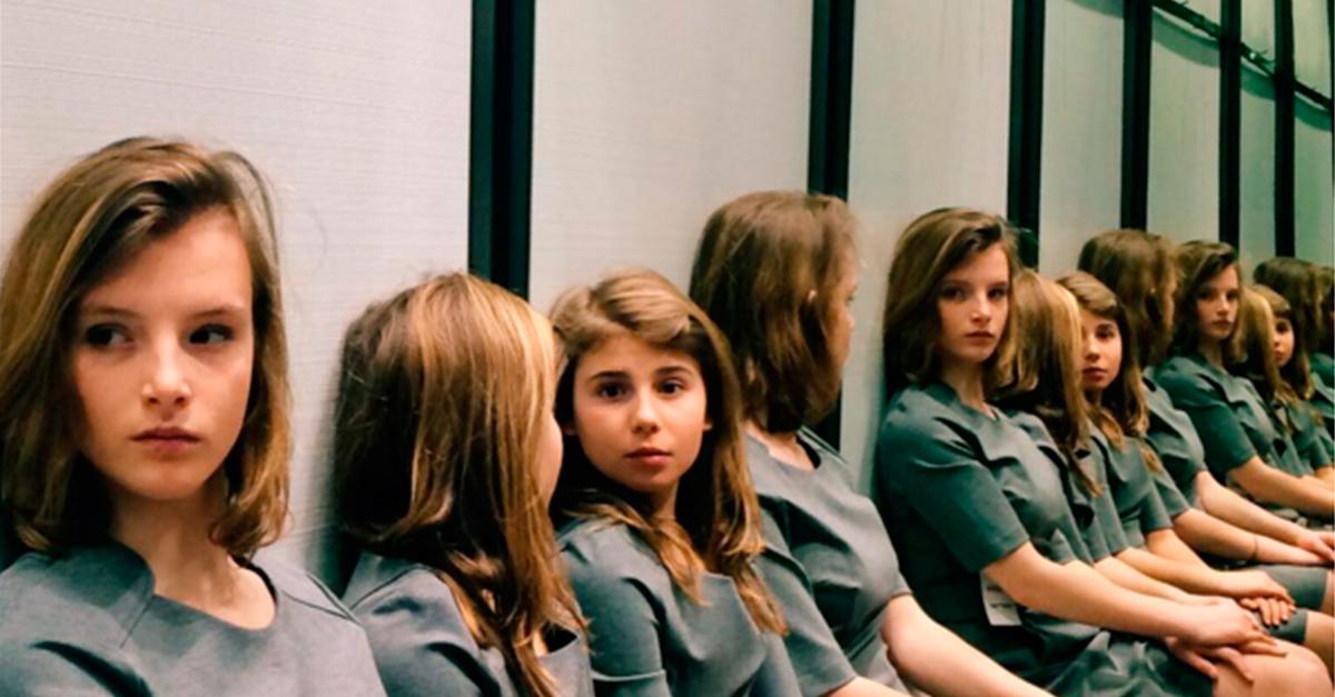 Фото девочек, которых нельзя сосчитать, вызвало споры в Instagram