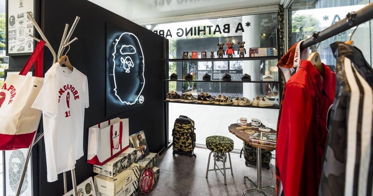 Японская марка одежды Bape выходит на российский рынок - Adindex.ru 73a7f8aa325