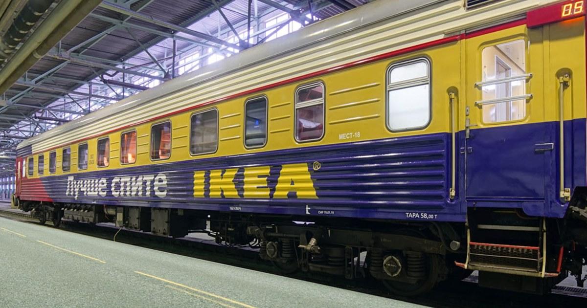 Ikea переоборудовала вагон поезда москва санкт петербург Adindexru