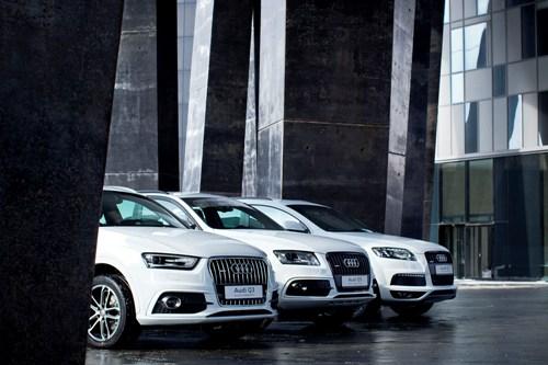 какие новые автомобили audi были представлены в сочи 2014
