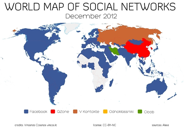Cамые популярные соцсети в мире - как менялась ситуация в течение года