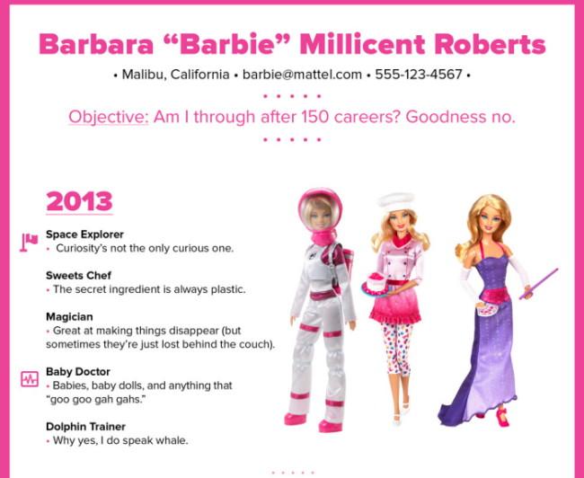 Барби пришла в бизнес: Одна из самых успешных женщин XXI века завела LinkedIn