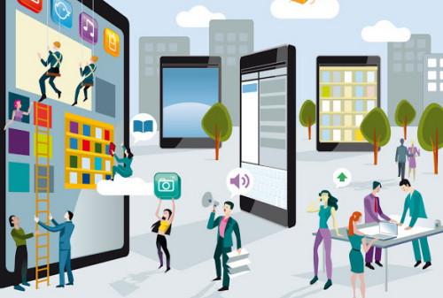 Глобальный рынок мобильной рекламы почти удвоился в 2013 году
