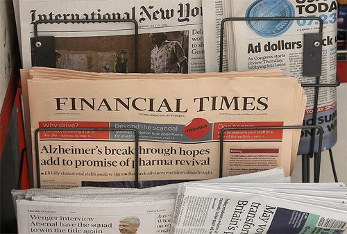 Financial Times продана Nikkei