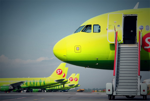 S7 Airlines начала ребрендинг
