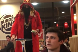 Блогер Big Russian Boss снялся в рекламе Burger King в России