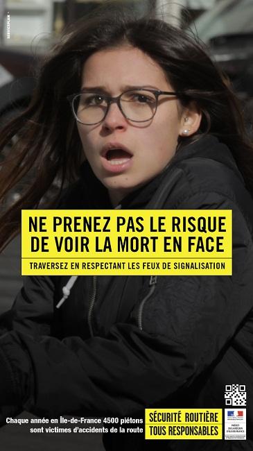 Ваше лицо, когда вас сбивает автомобиль: шок-акция Serviceplan в Париже