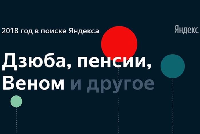 Итоги года поверсии «Яндекса»: самые главные темы впоиске 2018