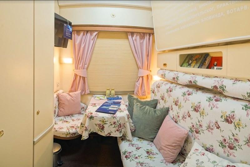IKEA переоборудовала вагон поезда Москва — Санкт-Петербург