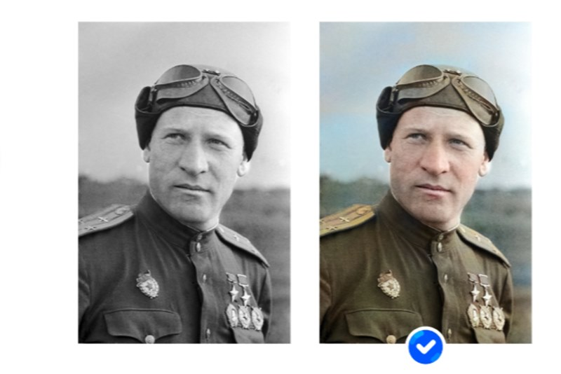 Mail.ru с помощью нейросетей отреставрирует военные фотографии