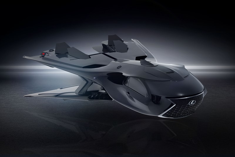 Lexus создал суперджет для «Людей в Черном»