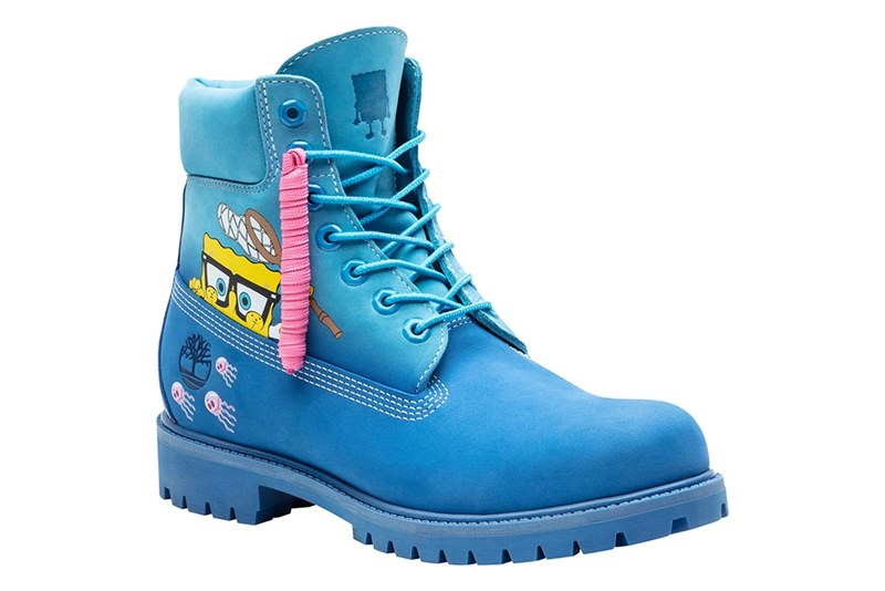 Timberland выпустил коллекцию ботинок с Губкой Бобом