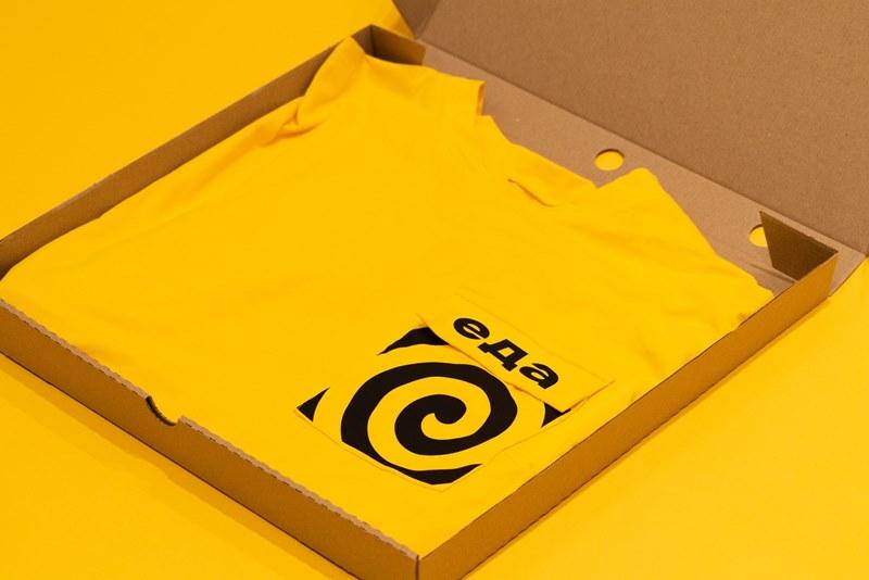 Сервис «Яндекс.Еда» начнет продавать брендированную одежду