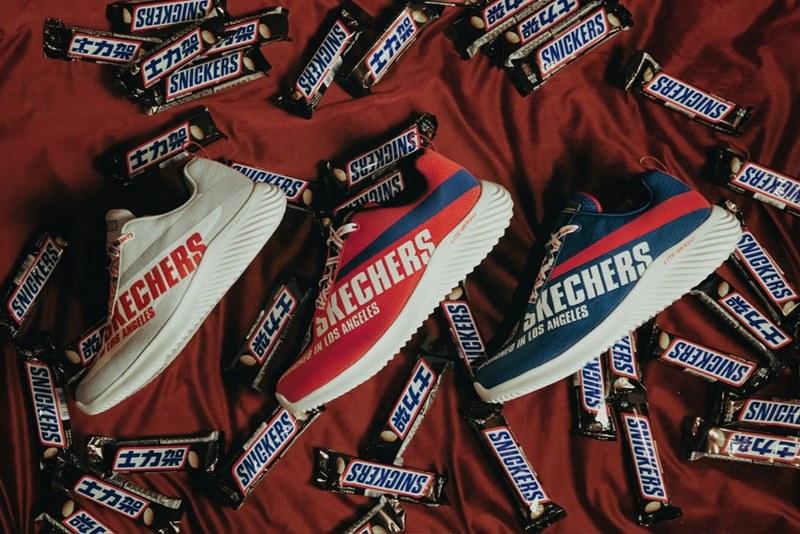 Аппетитные кроссовки — коллаборация от Skechers и Snickers