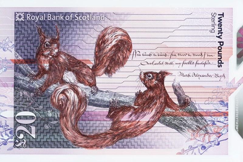 Дизайнеры спрятали «пасхалки» в шотландских банкнотах