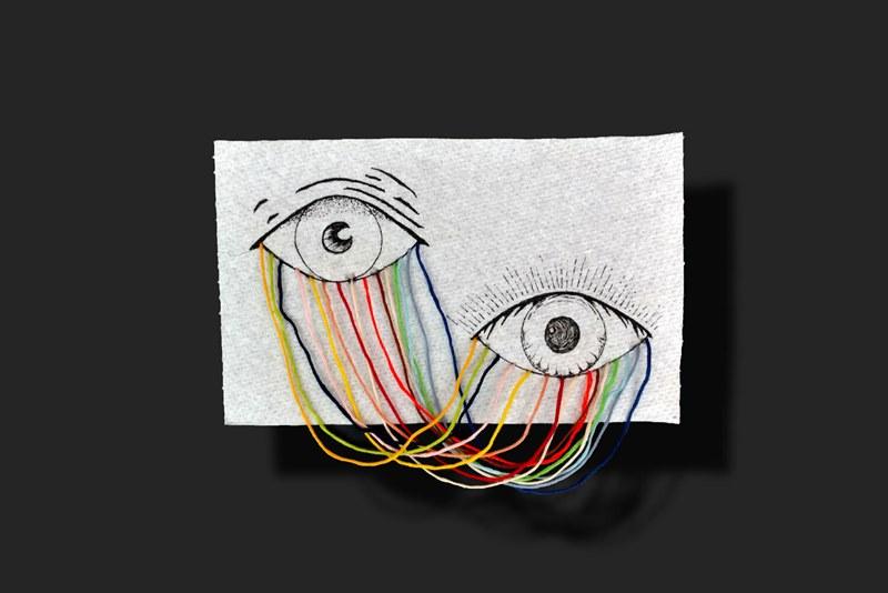 Give a sheet: художники заменили холсты на туалетную бумагу