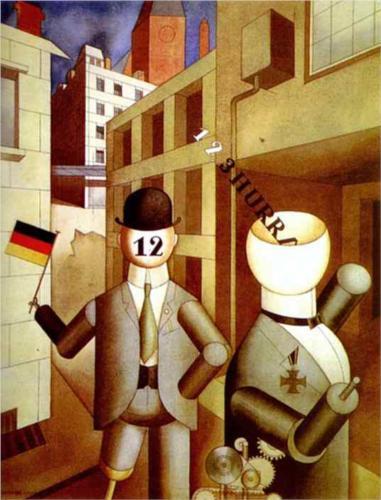 Георг Гросс. Политически ангажированный авангардизм